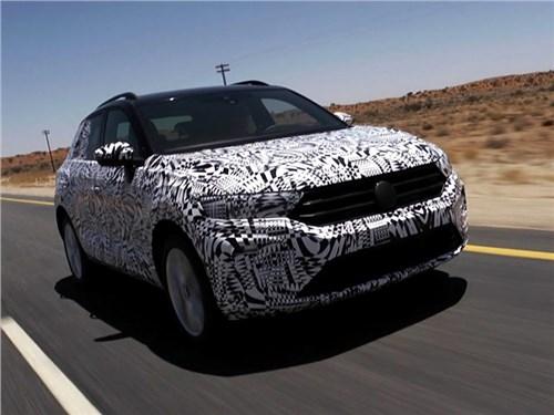 Volkswagen показал кроссовер T-Roc