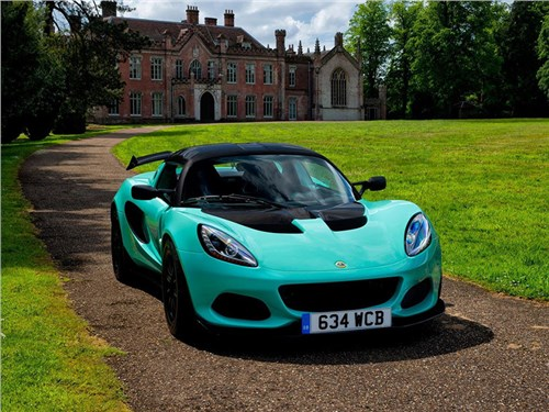 Новость про Lotus Elise - Lotus Elise Cup 250 2017