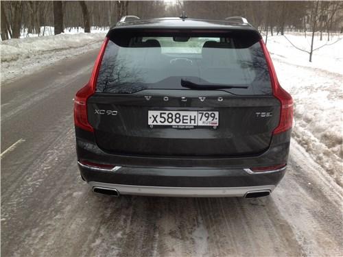 Volvo XC90 2015 вид сбоку