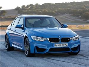BMW M3 2014 вид спереди фото 1