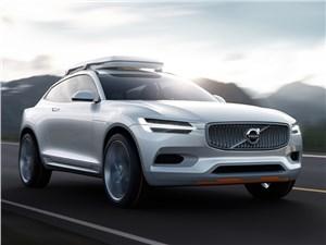 Volvo XC Coupe concept 2014 вид спереди