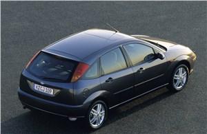 Предпросмотр ford focus 1998 кузов пятидверный хэтчбек вид сзади