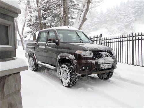 Предпросмотр uaz pickup 2016 вид спереди