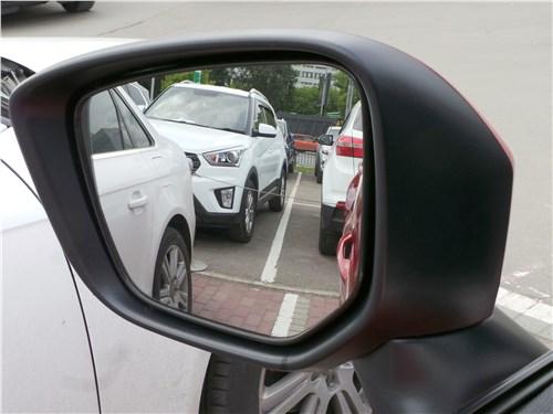 Mitsubishi Eclipse Cross 2018 боковое зеркало