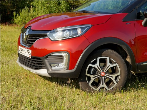 Renault Kaptur 2016 колесные арки