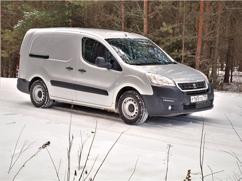 Peugeot Partner Tepee (2016) вид сбоку