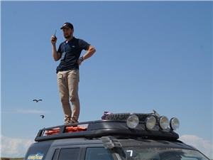 Land Rover Discovery 2014 экспедиционный багажник