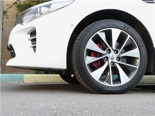 Kia Optima GT-Line 2016 передний свес