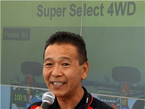Двукратный победитель «Дакара» Хироши Масуока