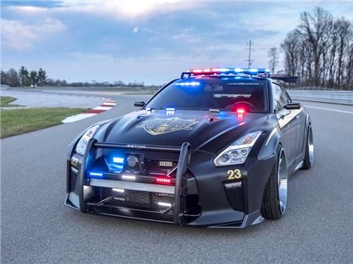 Nissan GT-R превратили в полицейский перехватчик