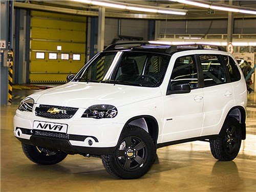 Chevrolet Niva получила новое оснащение