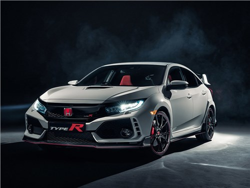 Новость про Honda - Honda Civic Type R 2017