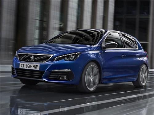 Peugeot показал обновленный 308