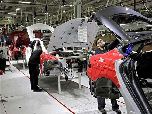 Новость про Tesla Motors - На заводе Tesla