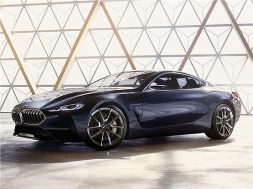 Рассекречен облик роскошного купе BMW