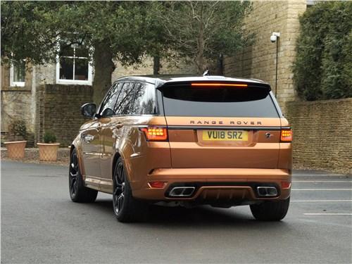 Land Rover Range Rover Sport SVR 2018 вид сзади