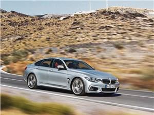 BMW 4 Series Gran Coupe 2014 вид сбоку фото 3