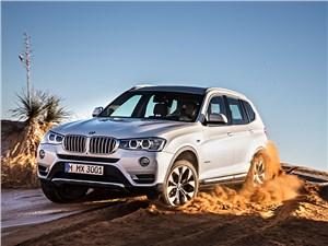 BMW X3 - BMW X3 2014 вид спереди фото 2