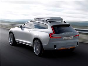 Предпросмотр volvo xc coupe concept 2014 вид сзади