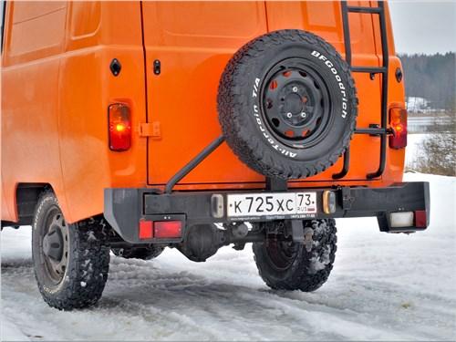 УАЗ 39099 «Экспедиция» (2018) задний силовой бампер