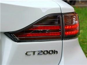 Предпросмотр lexus ct 200h 2011 задний фонарь