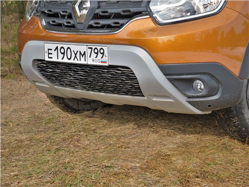 Renault Duster (2021) передний бампер