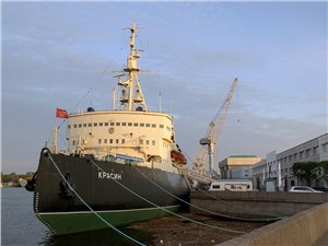 Исторический ледокол «Красин» сегодня – потрясающе интересный музей