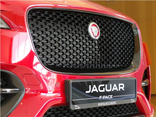 Jaguar F-Pace 2016 решетка радиатора