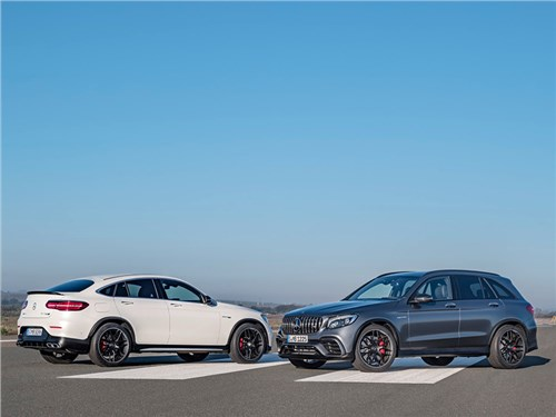 Новость про Mercedes-Benz - Mercedes-AMG подготовил конкурента BMW X3M и Porsche Macan Turbo