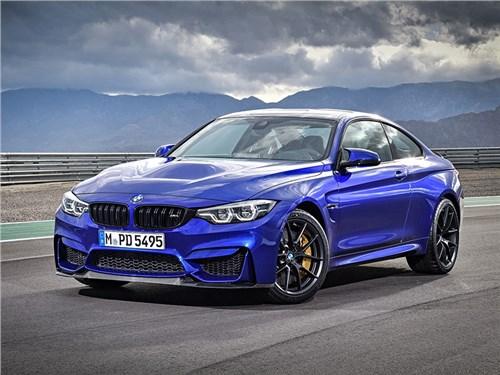 Купе BMW M4 CS доехало до России