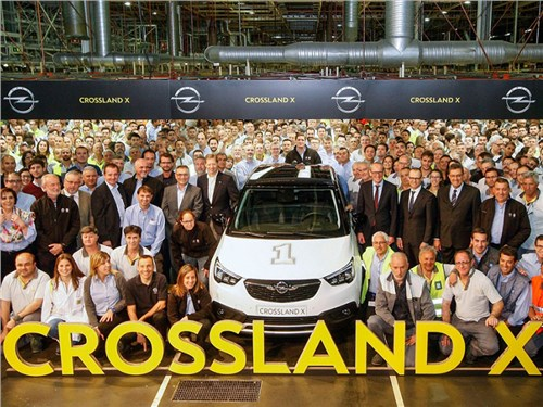Opel начал производство нового кроссовера