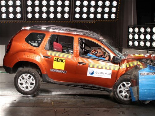 Renault Duster провалил краш-тесты