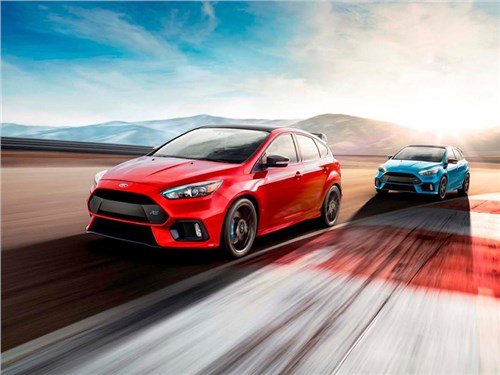 Новость про Ford Focus RS - Ford Focus RS 2017