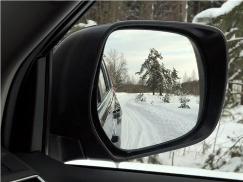 Toyota Land Cruiser Prado 2017 боковое зеркало