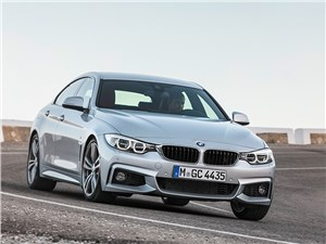BMW 4 Series Gran Coupe 2014 вид спереди фото 1