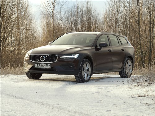 Volvo V60 Cross Country 2019 вид спереди