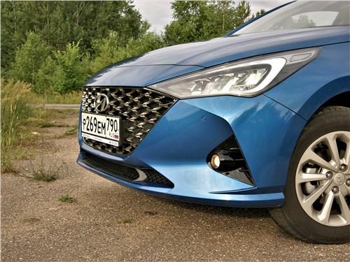 Hyundai Solaris 2020 передний свес