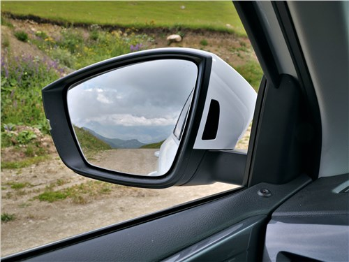 Предпросмотр volkswagen taos (2022) боковое зеркало