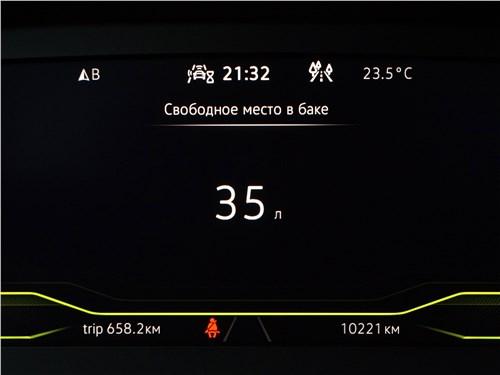Volkswagen Tiguan R (2021) приборная панель