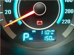 Changan Eado 2014 расход топлива