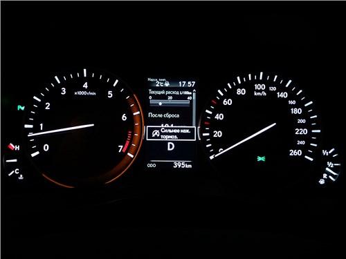 Lexus ES 200 2016 приборная панель