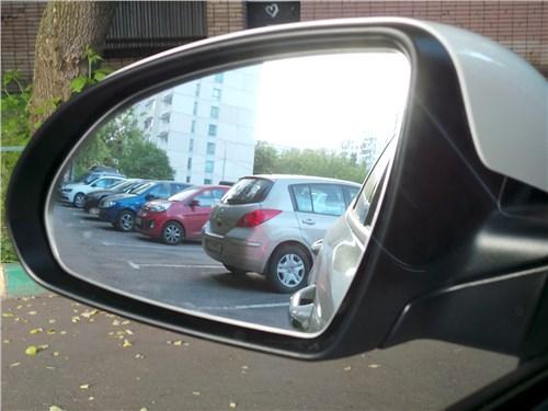 Kia Optima GT-Line 2016 боковое зеркало