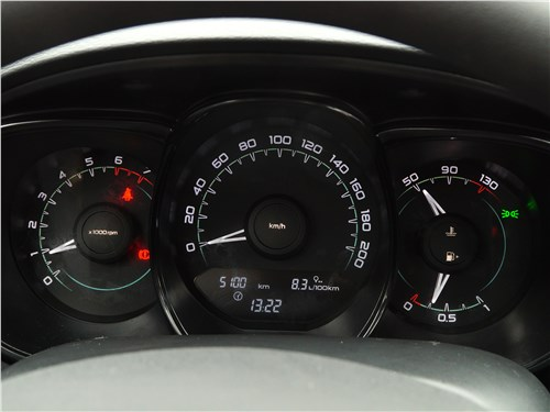 Lada Vesta 2015 приборная панель