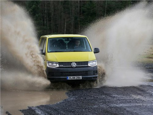 Volkswagen Transporter получил внедорожную версию