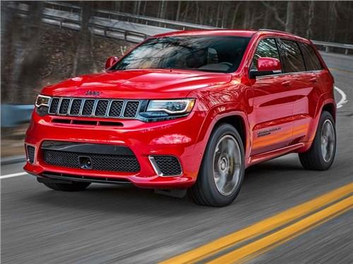 Новость про Jeep Grand Cherokee - Jeep привез в Россию две спецверсии Grand Cherokee