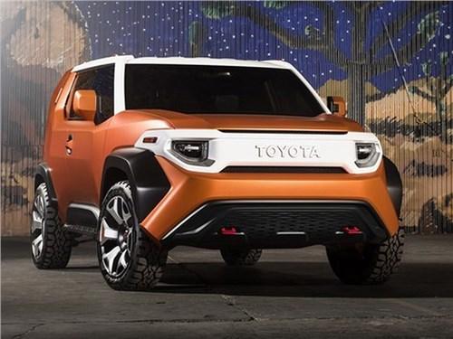 Toyota сделает конкурента Jeep Wrangler