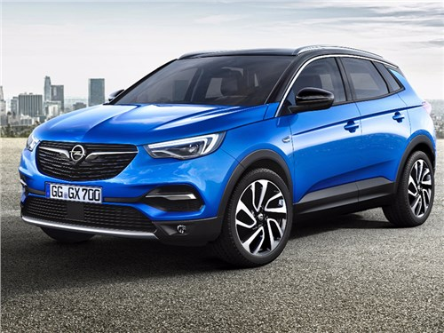 Новость про Opel - Opel Grandland X 2017