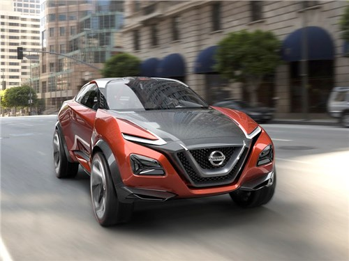 Новость про Nissan - Nissan готовит концепт электрического кроссовера