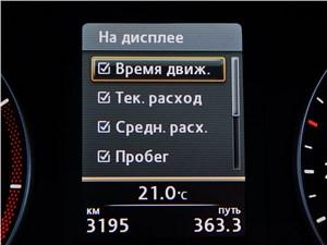 Предпросмотр volkswagen touran 2011 дисплей бортового компьютера