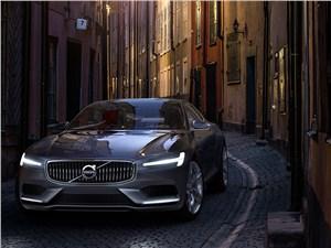 Предпросмотр volvo coupe концепт 2013 вид спереди фото 4